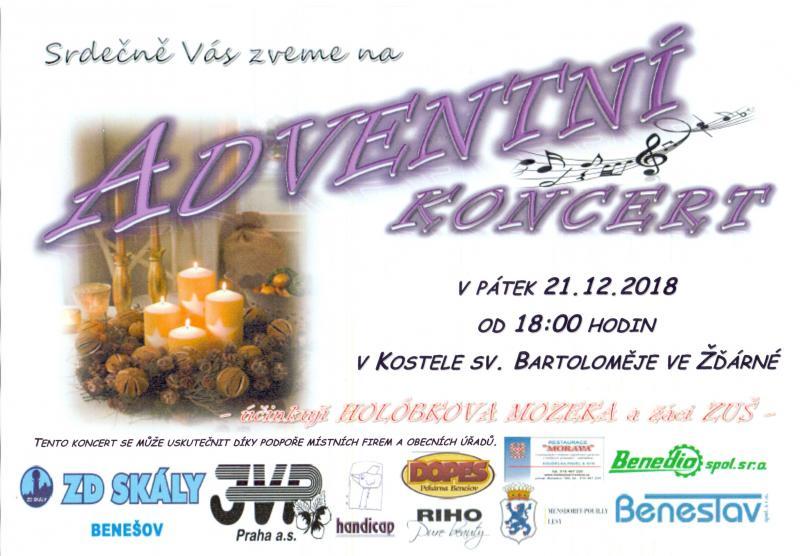 Adventní koncert 2018